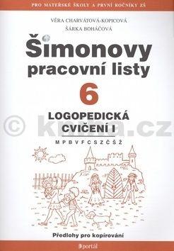 Šárka Boháčová: Šimonovy pracovní listy 6 cena od 85 Kč