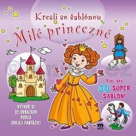 Kresli so šablónou Milé princezné cena od 98 Kč
