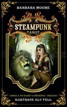 Barbara Moore: Steampunk tarot cena od 336 Kč