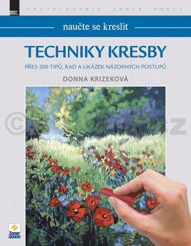 Donna Krizek: Techniky kresby cena od 232 Kč