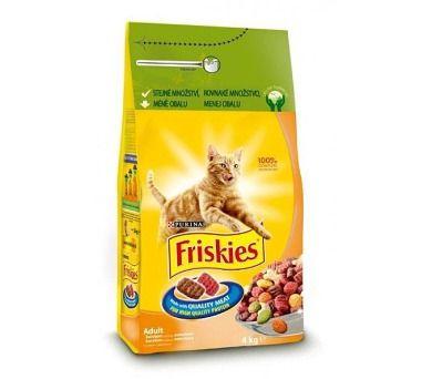 Friskies Cat s drůbežím 4 kg cena od 209 Kč
