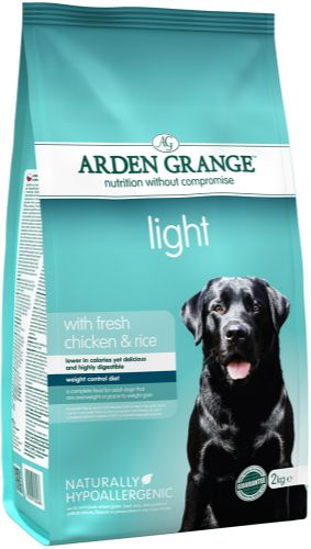 XXL obrazek Arden Grange Dog Adult Light 6 kg