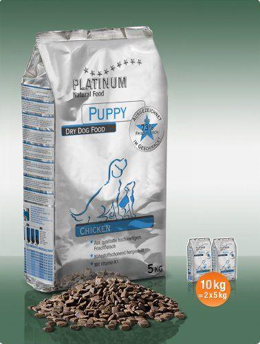 Platinum Natural Puppy Chicken 10 kg cena od 0 Kč