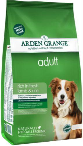 Arden Grange Dog Adult Lamb 2 kg cena od 256 Kč