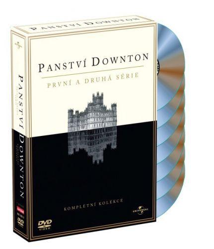 Panství Downton 1+2 BD