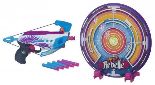 Nerf N-REBELLE Kuše s terčem cena od 359 Kč