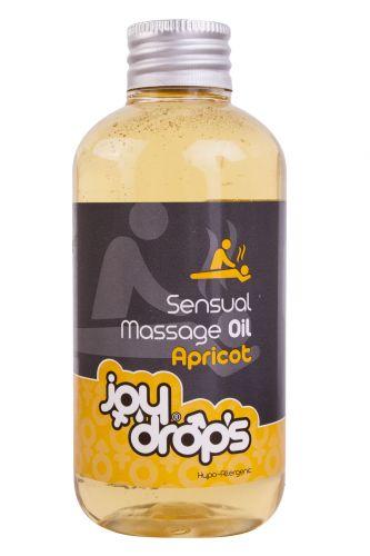 JoyDrops masážní olej meruňka 250 ml