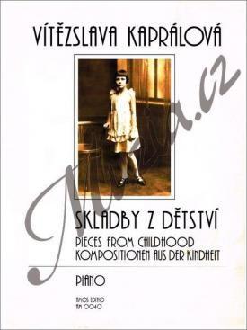 Amos editio Kaprálová Vítězslava | Skladby z dětství | Noty na klavír cena od 128 Kč