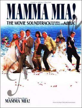 Wise Publication ABBA | Mamma Mia! Soundtrack z filmu obsahující písně skupiny ABBA | Zpěvník-noty