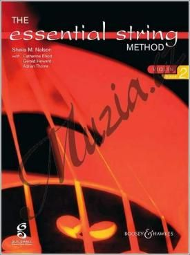 Boosey & Hawkes Nelson Sheila Mary | The Essential String Method Vol. 2 | Noty na housle cena od 205 Kč