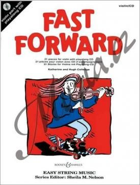 Boosey & Hawkes Colledge Hugh, Colledge Katherine | Fast Forward - 21 pieces | Noty na housle - +CD cena od 229 Kč