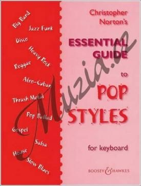 Boosey & Hawkes Norton Christopher | Essential Guide to Pop Styles | Noty na klavír cena od 365 Kč