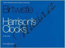 Boosey & Hawkes Birtwistle Sir Harrison | Harrison's Clocks | Noty na klavír cena od 537 Kč