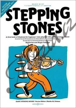 Boosey & Hawkes Colledge Hugh, Colledge Katherine | Stepping Stones - A first book of 26 pieces for beginners | Noty na violu cena od 321 Kč