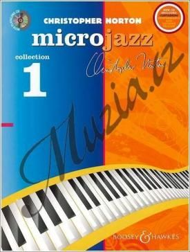 Boosey & Hawkes Norton Christopher | The Microjazz Collection 1 (repackage) - Graded piano pieces and exercises in popular styles | Noty na klavír - +CD cena od 457 Kč