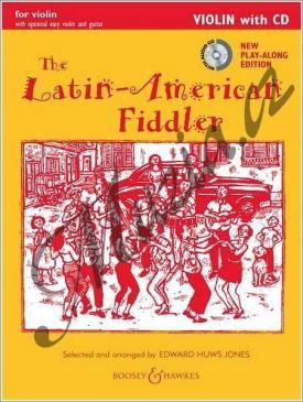 Boosey & Hawkes Album | The Latin-American Fiddler (New Edition) - Violin Edition | Noty na housle - +CD cena od 0 Kč