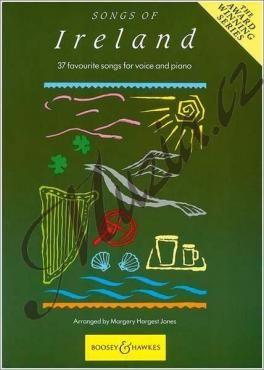 Boosey & Hawkes Album   Songs of Ireland - 37 Favourite Songs   Noty pro sólový zpěv cena od 716 Kč