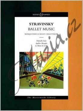 Boosey & Hawkes Stravinskij Igor | Ballet Music | Noty pro orchestr - Studijní partitura cena od 0 Kč