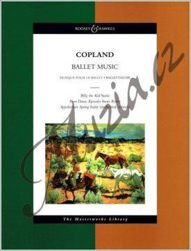 Boosey & Hawkes Copland Aaron | Ballet Music | Noty pro orchestr - Studijní partitura cena od 842 Kč