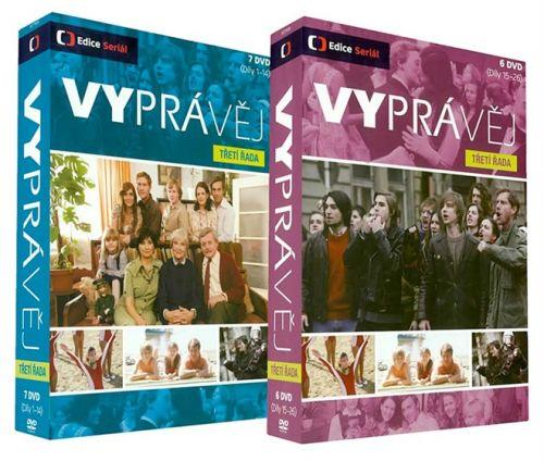 DVD Vyprávěj - 3. řada - 13 DVD