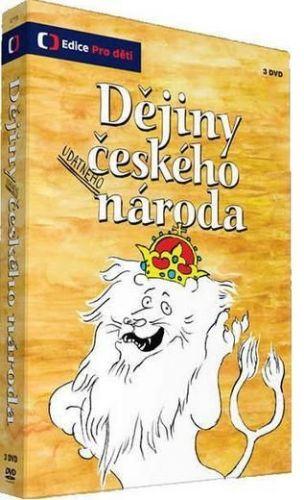 Lucie Seifertová: Dějiny udatného českého národa - 3 DVD