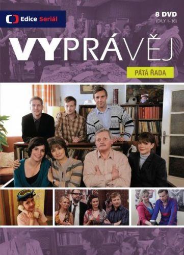 DVD Vyprávěj - 5. řada - 16 DVD