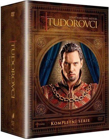 Tudorovci: kompletní 1. - 4. sezóna DVD