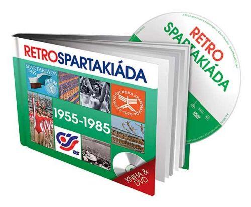 Retro Spartakiáda 1955-1985 - DVD + kniha cena od 136 Kč