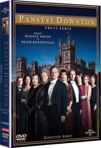Panství Downton 3. série 4 DVD