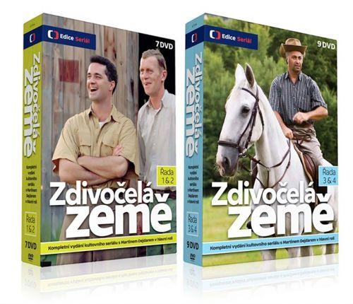 Zdivočelá země 16 DVD cena od 786 Kč