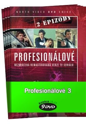 Profesionálové 3. - kolekce 9 DVD cena od 259 Kč