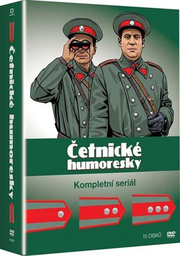 Četnické humoresky 15 DVD cena od 999 Kč