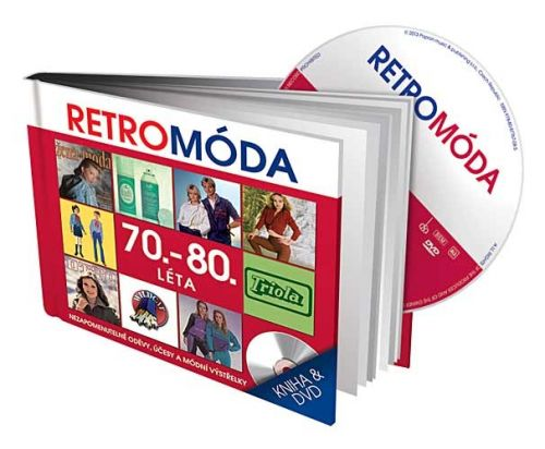 Retro Móda 70.-80. léta - DVD + kniha