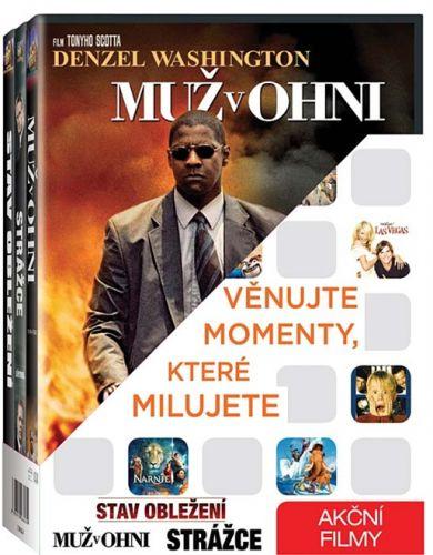 Stav obležení + Muž v ohni + Strážce DVD