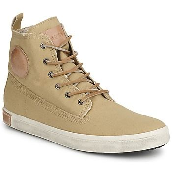 Blackstone CANVAS HIGH boty