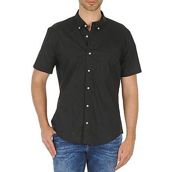 American Apparel POPLIN SHORT SLEEVE BUTTON DOWN košile