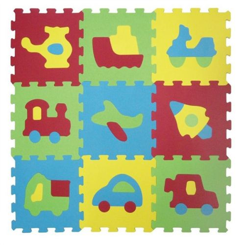 Ludi Puzzle pěnové dopravní prostředky 9 dílů cena od 383 Kč