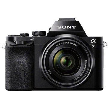 Sony Alpha 7 cena od 34990 Kč