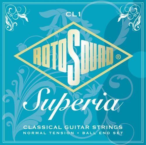 Rotosound CL1 Superia Nylon Silver Blue