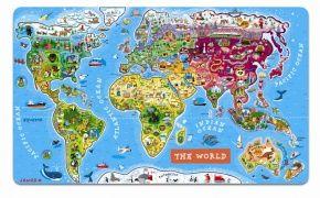 Janod Magnetická mapa světa cena od 1320 Kč