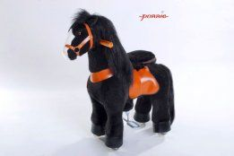 PONNIE Jezdící kůň Black Horse