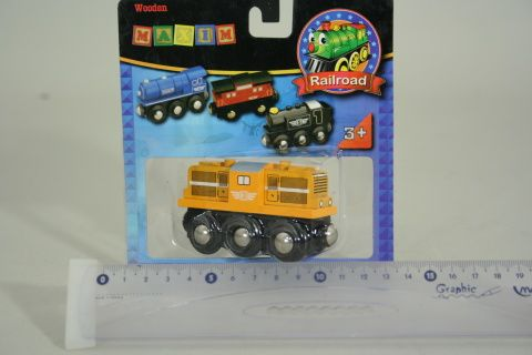 Maxim Dieselová lokomotiva 50814