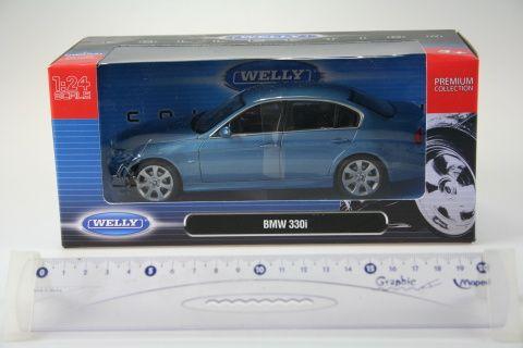 Welly BMW 330I 1:24 cena od 370 Kč