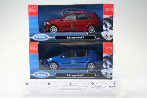 Welly Volkswagen Golf V 1:24 cena od 328 Kč