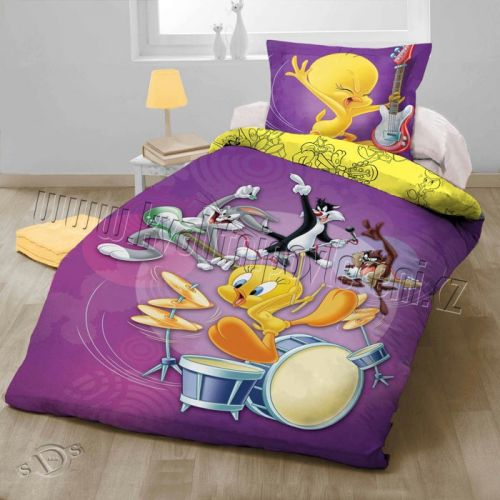 HALANTEX Looney Tunes bavlněné Povlečení