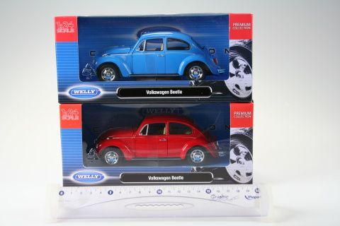 Welly Volkswagen Beetle 1:24 cena od 418 Kč