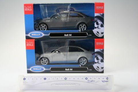 Welly Audi A4 1:24 cena od 379 Kč