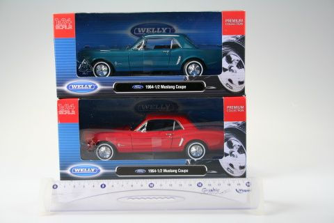 Welly Ford Mustang 1964 1:24 cena od 0 Kč