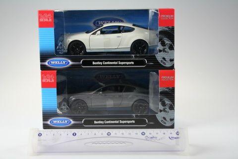 Welly Bentley Continental Supersport 1:24 cena od 295 Kč