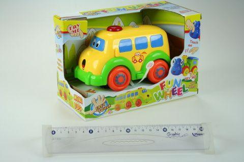 LAMPS Baby autíčko autobus 15 cm cena od 195 Kč